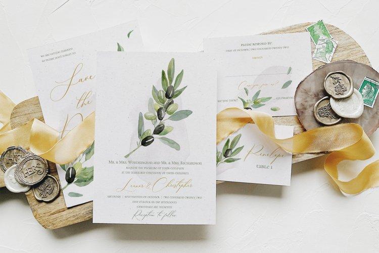 Gold Tuscany Wedding Suite