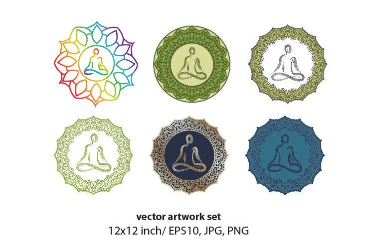 Mandala - VECTOR ARTWORK SET