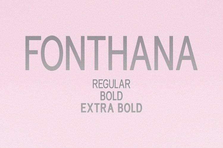 Fonthana l 3 Style Classy Font example image 1