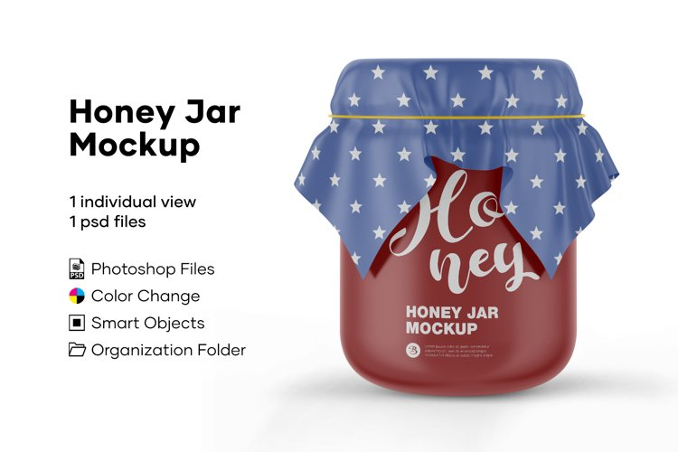 Honey Jar Mockup example image 1