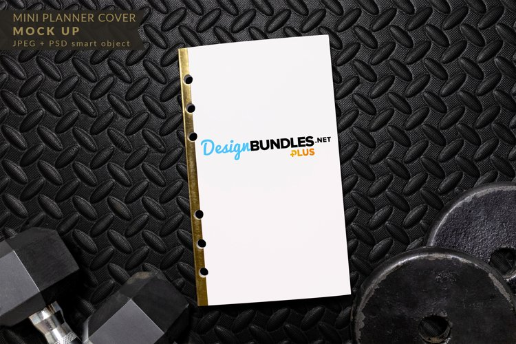 Mini Planner Cover Mock up example image 1