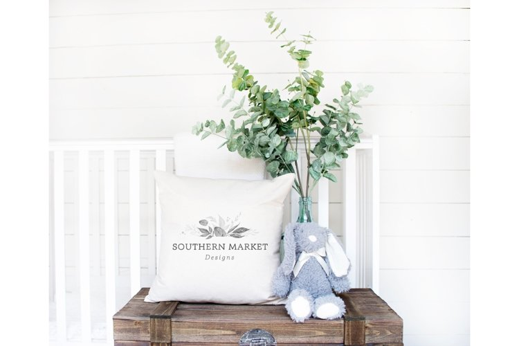 Nursery Pillow Mock Up Styled Photography
