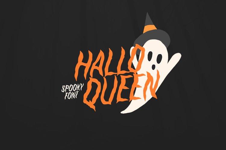 HalloQueen / Spooky Halloween font example image 1
