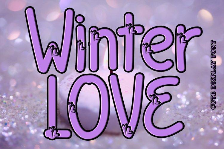 Winter Love example image 1
