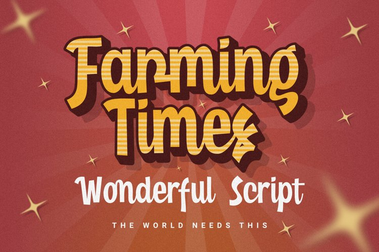 Farming Times - Wonderful Script