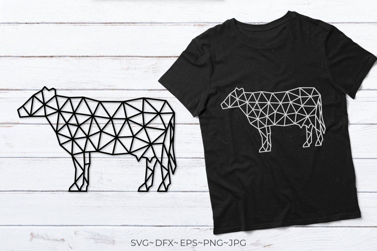 Cow svg Cow silhouette Cow clipart Farm animals svg