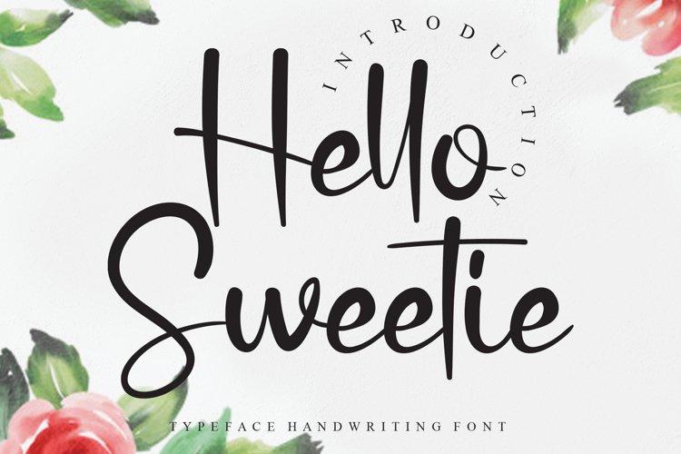 Hello Sweetie example image 1