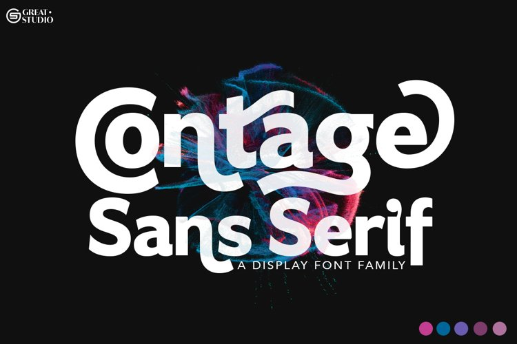 Contage Font Family example image 1