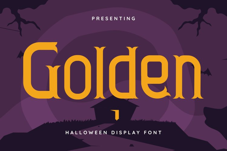 Golden Font example image 1