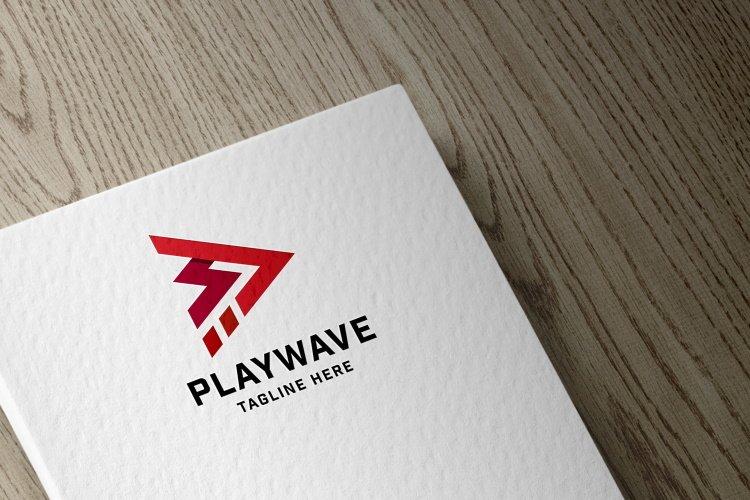Play Wave Logo