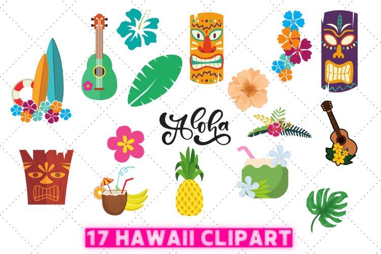 Hawaii clipart | Aloha clipart | tropical clipart