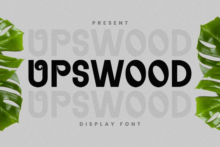 Upswood Font example image 1