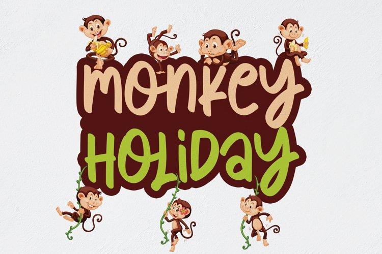 Monkey Holiday example image 1