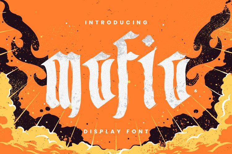Mafia Font example image 1