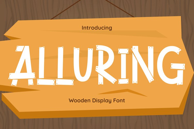 Alluring Font example image 1