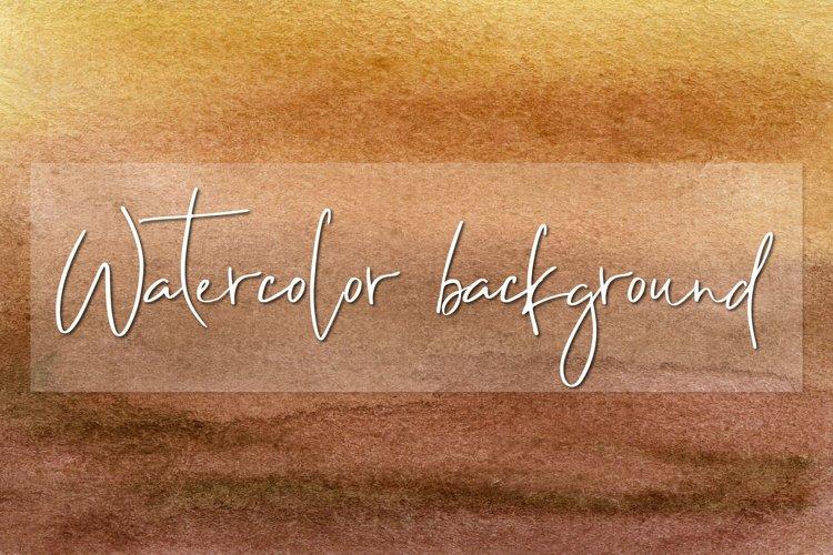 Brown Watercolor digital paper example image 1