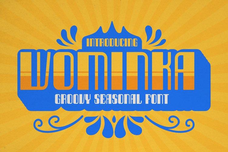 Wominka Font example image 1