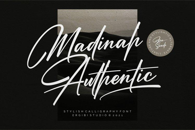 Madinah Authentic | Stylish Font example image 1