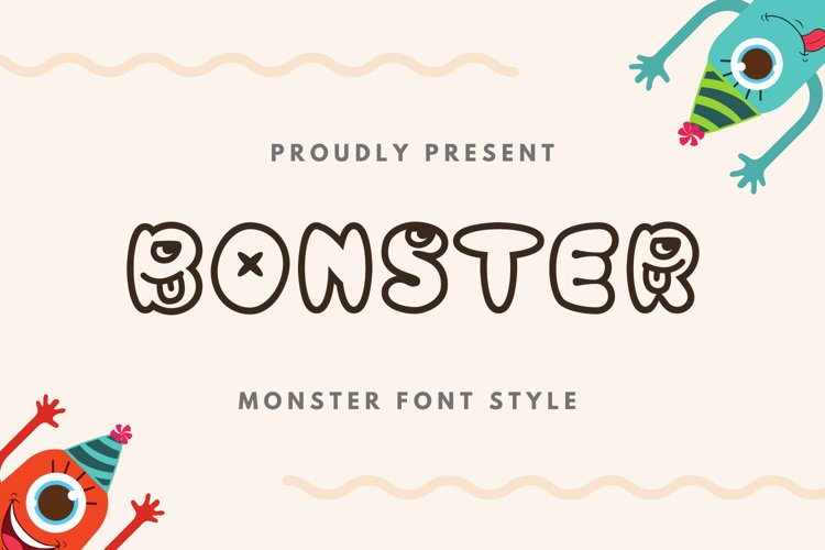 Bonster Font example image 1