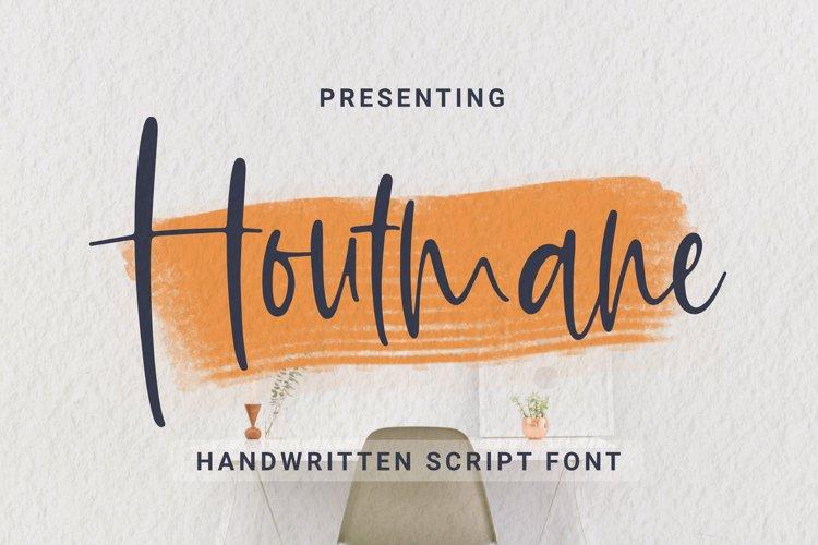 Houtmane Font example image 1