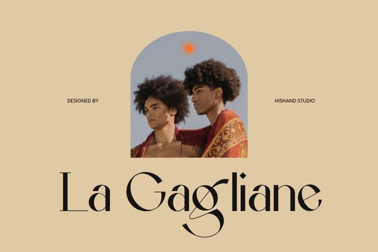 La Gagliane Classic Modern Typeface example image 1