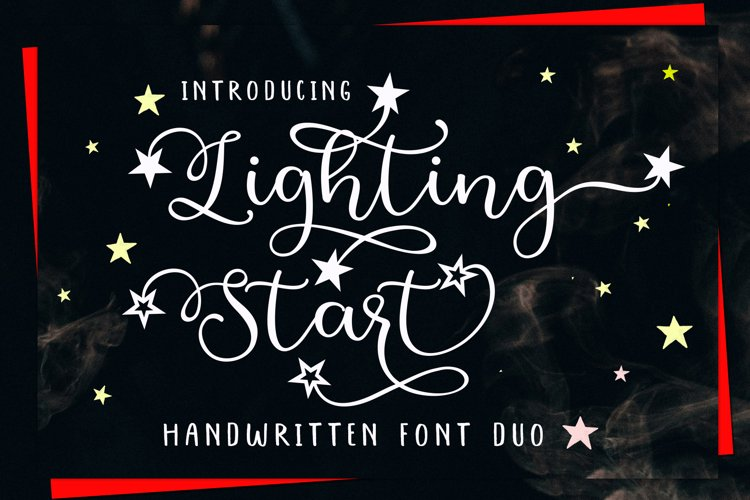 Lighting Start - Font Duo example image 1