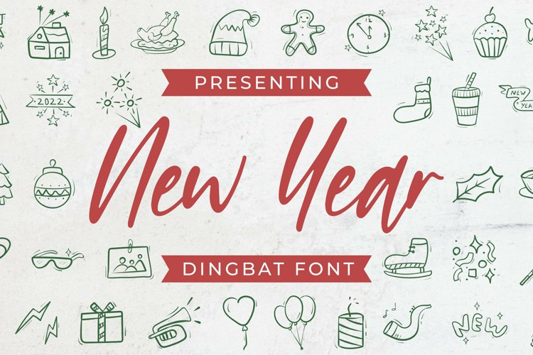 NewYear Font example image 1