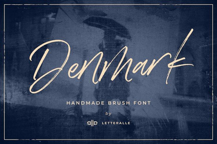 Denmark Handwritten Font example image 1