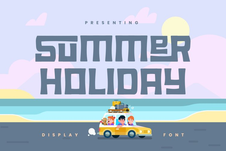 Summer Holiday Font example image 1