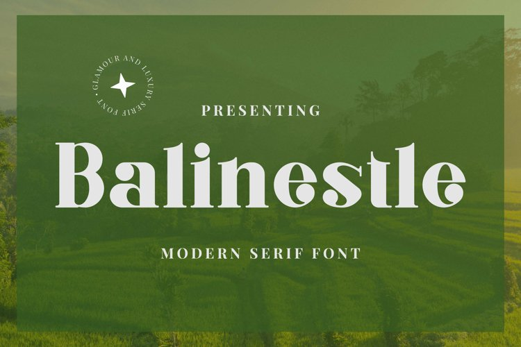 Balinestle Font example image 1