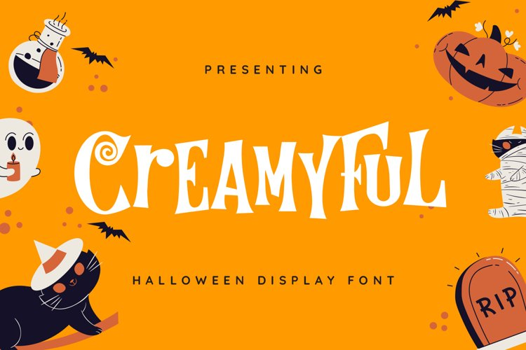Creamyful Font example image 1