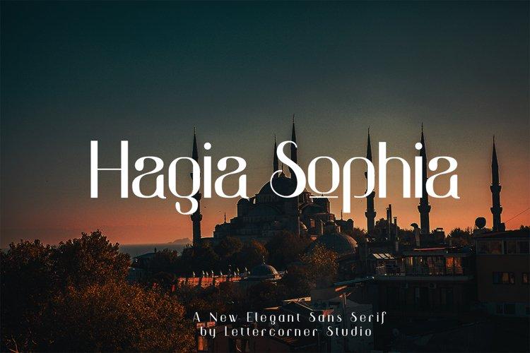 Hagia Sophia example image 1