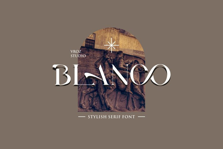 BLANCO - Stylish Serif Font example image 1