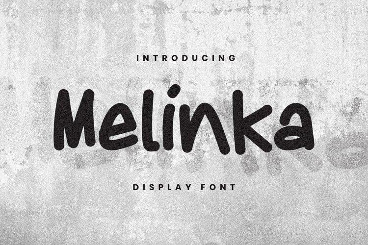 Melinka Font example image 1