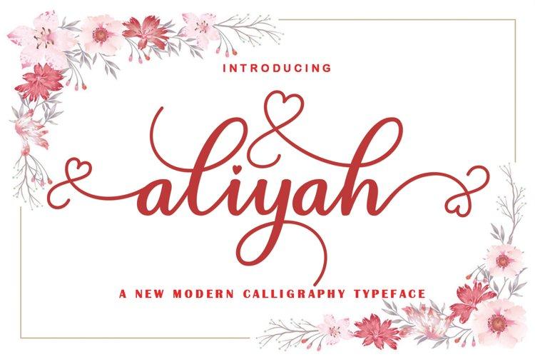 aliyah example image 1