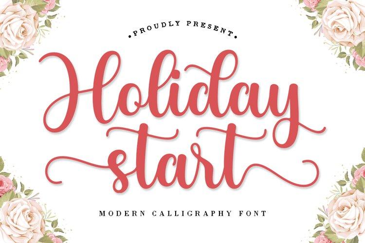 Holiday Start example image 1