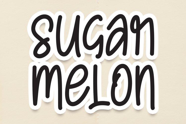 Sugar Melon example image 1