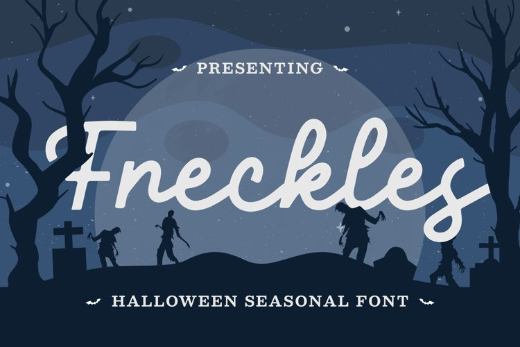 Freckles Font example image 1