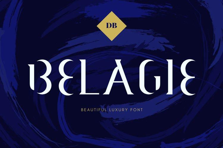 Belagie Font example image 1