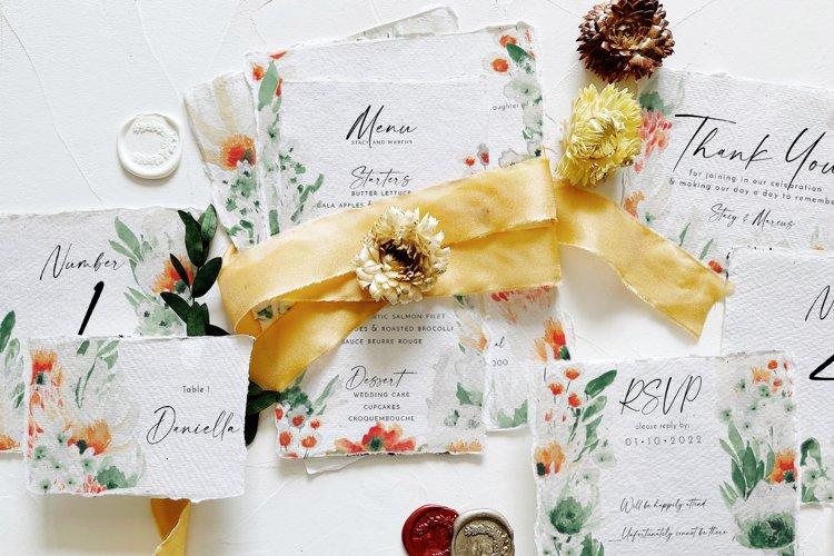 Green Wildflower Wedding Suite