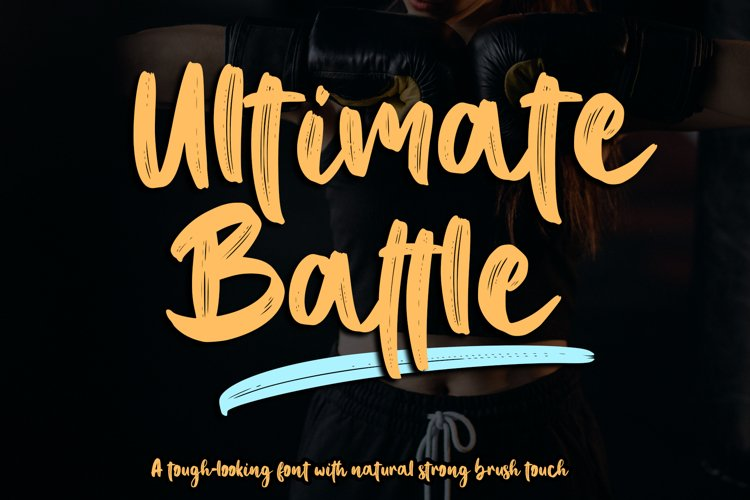 Ultimate Battle example image 1