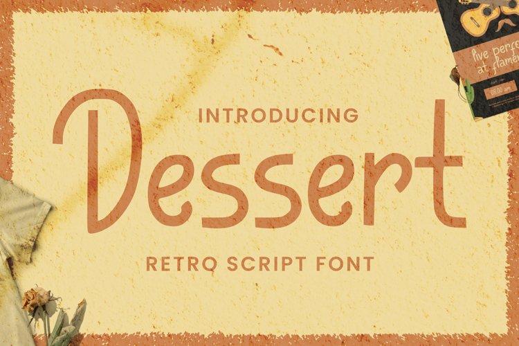 Dessert Font example image 1