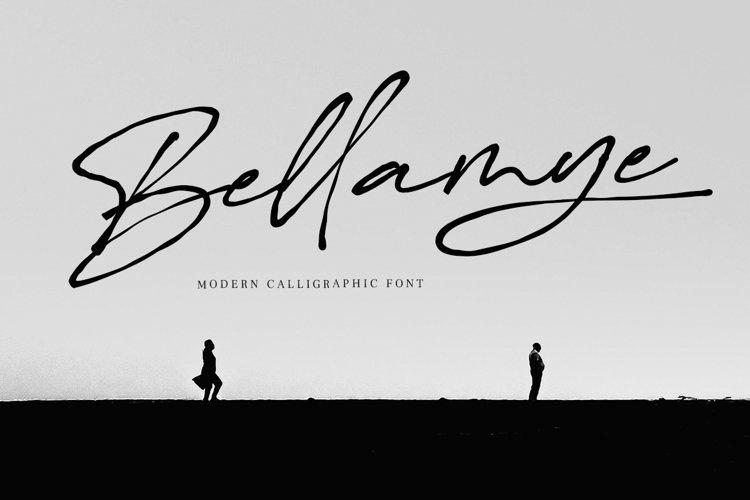 Bellamye - Modern Calligraphy example image 1