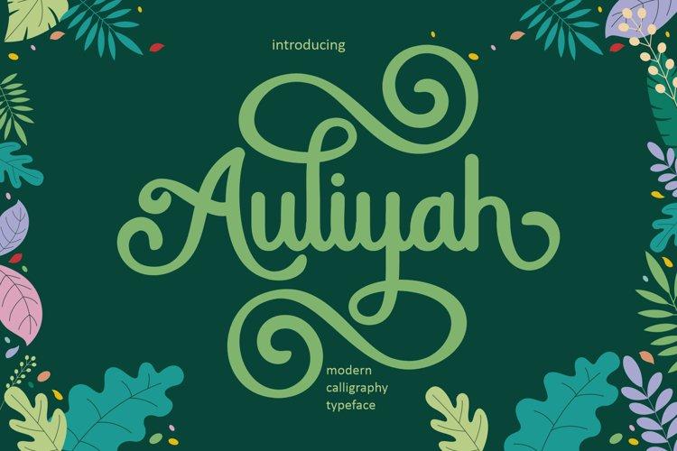 Auliyah example image 1