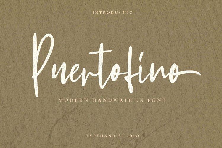 Puertofino - Modern Handwritten example image 1