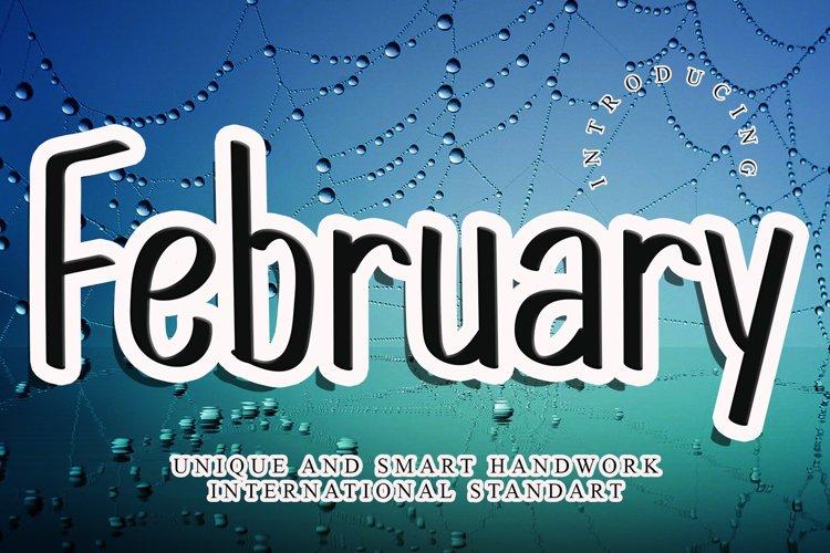 February example image 1