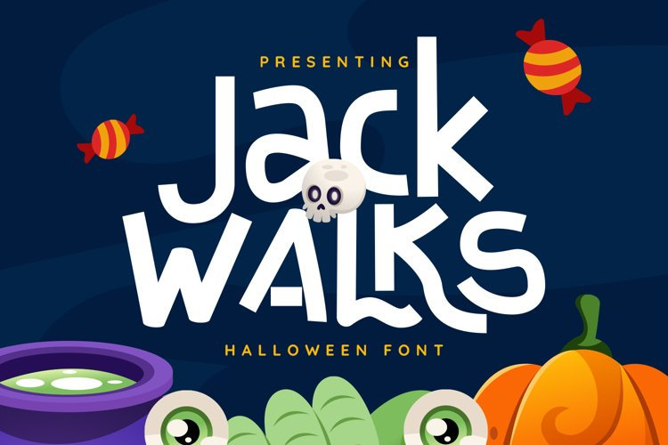 JackWalks Font example image 1