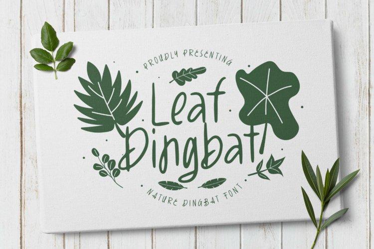 LeafDingbat Font example image 1