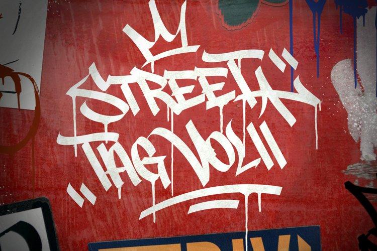 Graffiti Font   Street Tag Vol2 example image 1