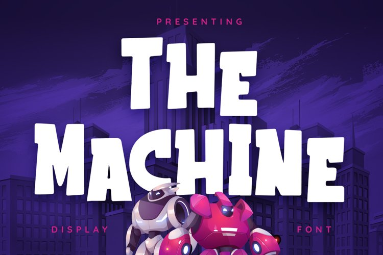 The Machine Font example image 1